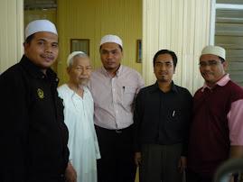 Pimpinan ABIM Perak dan Kelantan bersama Tuan Guru