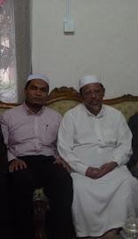 Bersama Ust.Muhammad Mustafa, Ulama dan mantan pimpinan ABIM Pusat