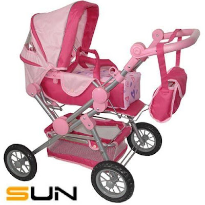 yaz very own strollers safe haven doll strollers part4 hello kitty prams. Black Bedroom Furniture Sets. Home Design Ideas