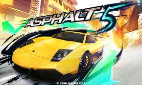 Asphalt 5 HD Game Symbian S60v5