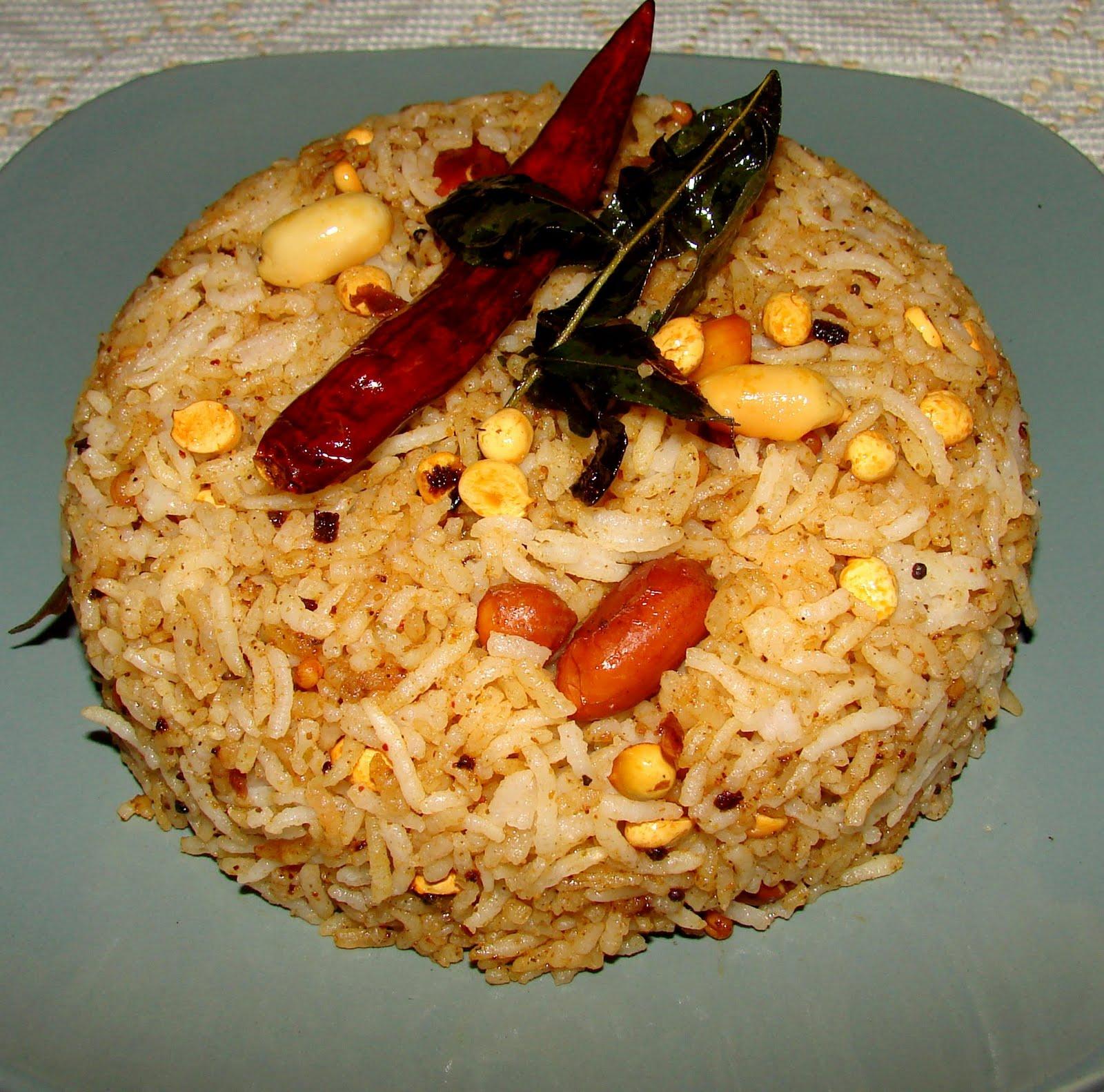 Tamarind Rice/ Puliogare