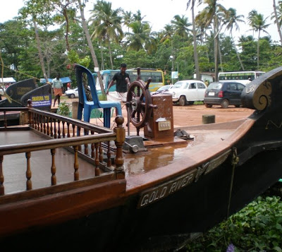 houseboats in kerala. The houseboats in Kerala,