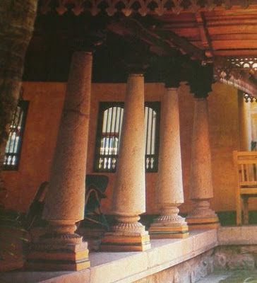 wonderful fusion of Chettinad and Kerala architecture