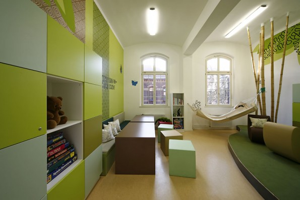 Clinic Called And Has Created A Holistic Dreamland For Young Patients With  Psychiatric Problems. Each Room Is Designed In Terms Of Shapes, Colors, ...
