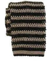 Nick Bronson Silk Stripe Knitted Tie