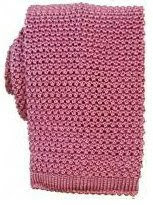 Nick Bronson Plain Silk Knitted Tie