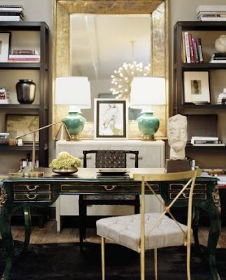 Neoclassical inspired desk
