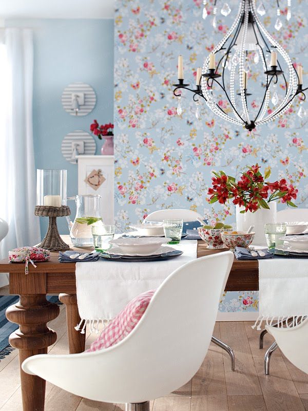 papel de parede decoracao de interiores:Papel de Parede: O papel de parede na decoração de interiores