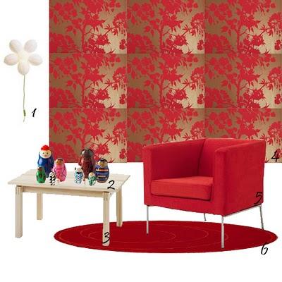 Papel de parede decorar salas com papel de parede - Papel para paredes ikea ...