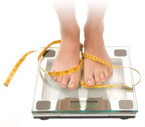 J'essaye de perdre du poids