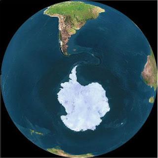 Antártida - Buraco na Camada de Ozônio