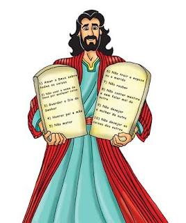 Moisés - 10 Mandamentos