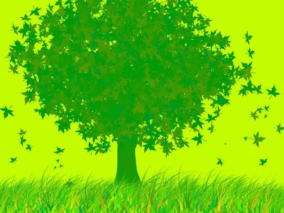 Árvore e Verde
