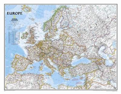 Map Of Europe Highways