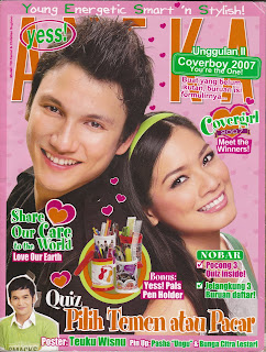 """Majalah Lama: """"Aneka Yess"""" Tahun 2007"""