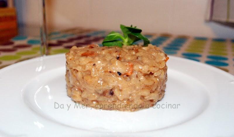 Da mer aprendiendo a cocinar risotto dhongos for Como cocinar risotto