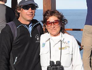 Isabel Peinecura, Park Ranger in  Punta Norte