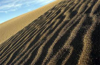 sand in Peninsula Valdes