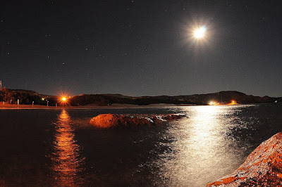 photography at Night in Peninsula Valdes