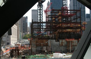 Freedom Tower rising 9/08 by lawhawk (c) 2009