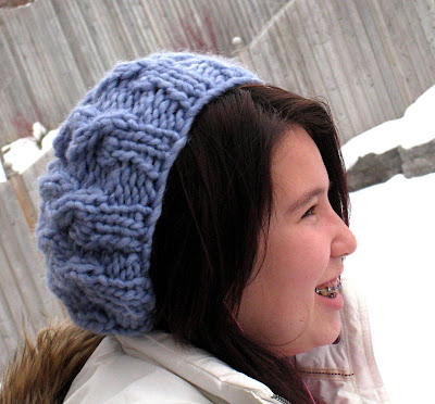 Paulinas Blog Speedy Cable Beret Pattern