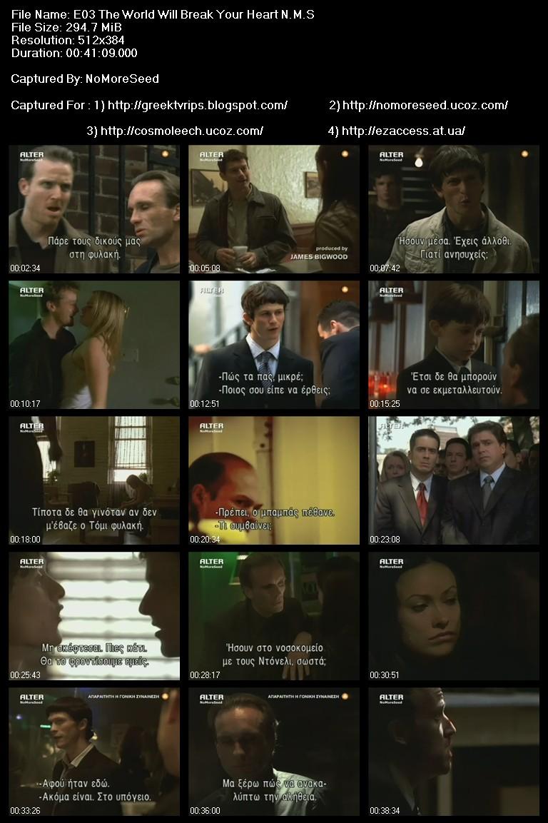 The Black Donnellys S01E00-E06  [ΕΝΣΩΜΑΤΩΜΕΝΟΙ ΕΛΛΗΝΙΚΟΙ ΥΠΟΤΙΤΛΟΙ] N.M.S. (ALTER)