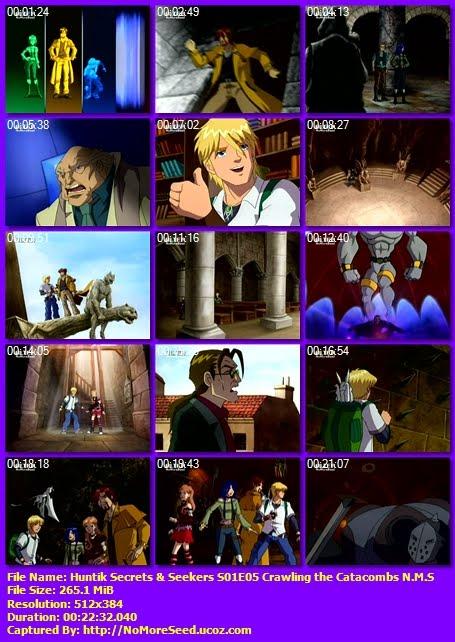 Χάντικ - Huntik Secrets & Seekers - S01E05 - Crawling  The Catacombs N.M.S. (ΜΕΤΑΓΛΩΤΤΙΣΜΕΝΟ ΣΤΑ ΕΛΛΗΝΙΚΑ) (ALTER)