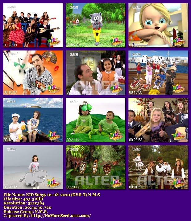 KID Songs 01-08-2010 (DVB-T) N.M.S (ALTER)