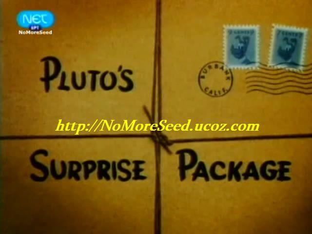 """Disney Shorts - """"Pluto's Surprise Package"""" (1949) {Μεταγλωττισμένο στα Ελληνικά} N.M.S (NET)"""