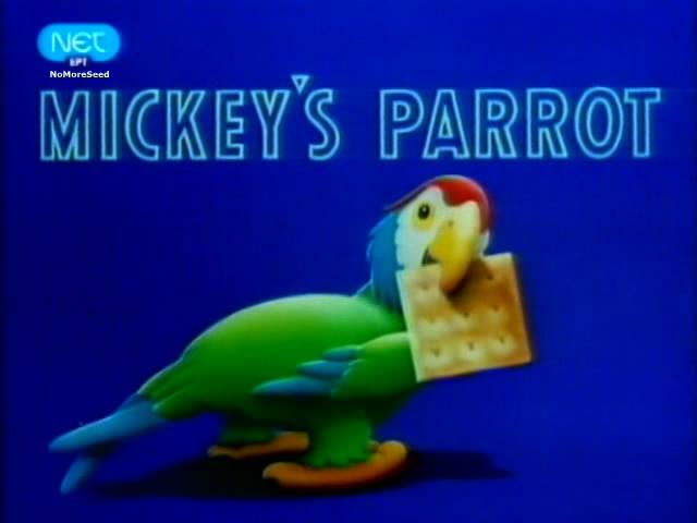 """Disney Shorts - """"Mickey's Parrot"""" (1938) {Μεταγλωττισμένο στα Ελληνικά} N.M.S (NET)"""