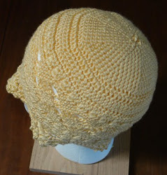 Crocheted hat
