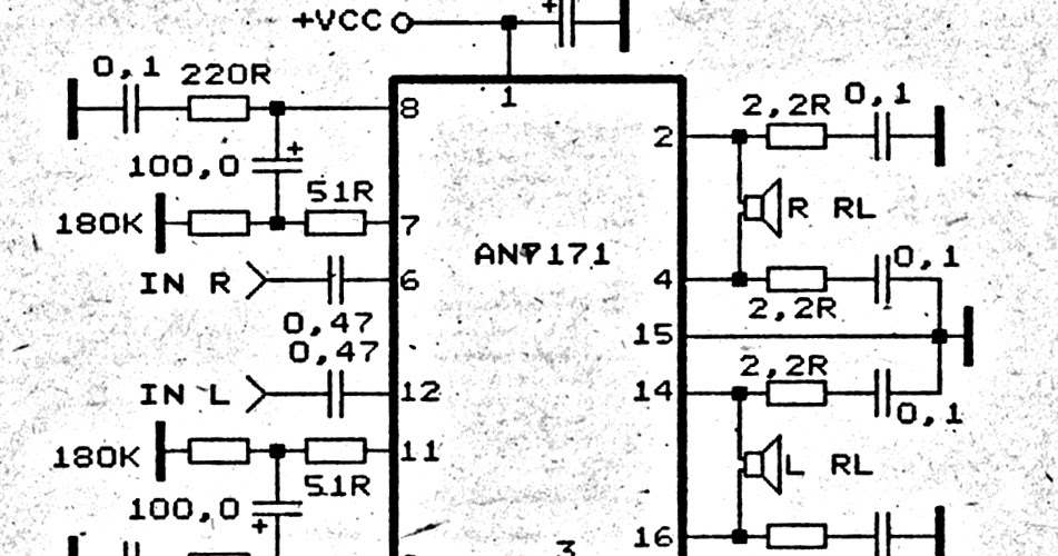 woofer speaker amplifier circuit