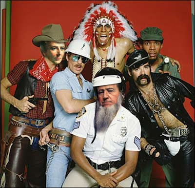ymca village people. into the Village People.