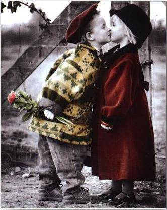 Wallpaper collection Romantic Love couple kissing: kissing