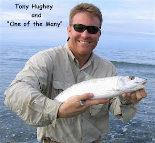 Photo of Tony holding a bonefish
