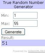 True Random Number Generator