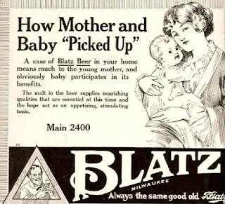 blatz beer tonic ad