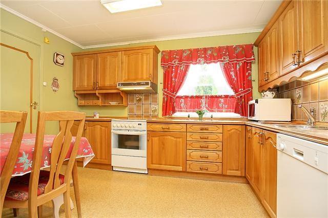 Lindas hus: Kjøkkenet vårt før og etter!