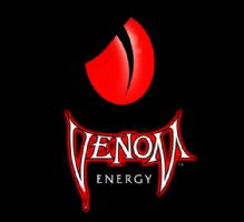 Target market   teens since adults don t buy that much energy drinksVenom Energy Logo