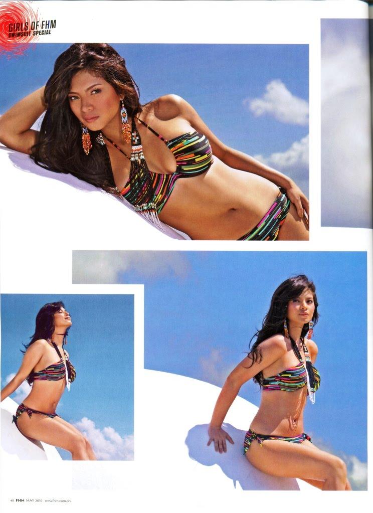 Celebrity Ph Angel Locsin Fhm June 2010 Issue
