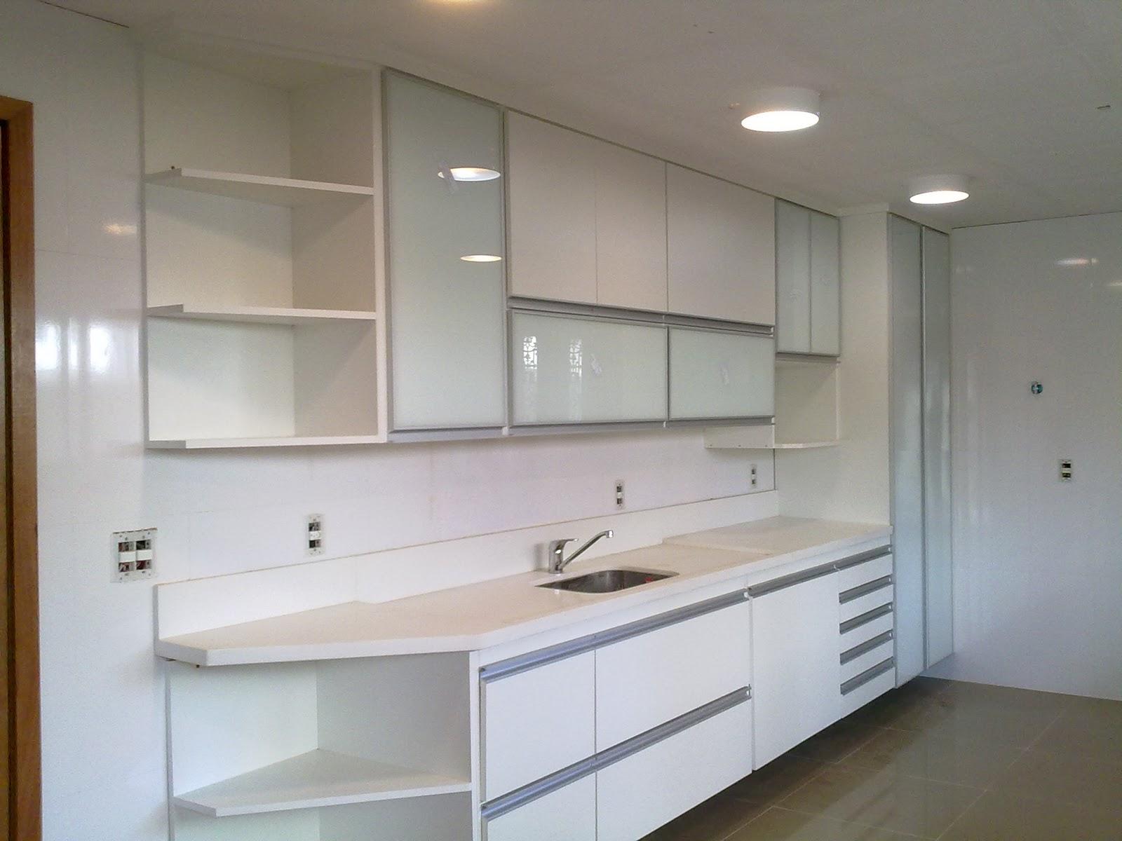 Armario De Cozinha Todo Branco : Wibamp armario cozinha vidro branco id?ias do
