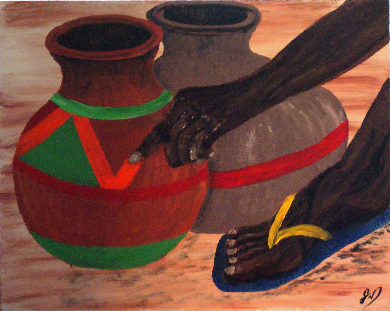 African Pottery Designs