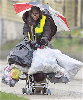 For Those Of You That Were Not Familiar With Dr Vora The Bag Lady I Found This Picture On Blog Straight Outta Johnstown As Can See