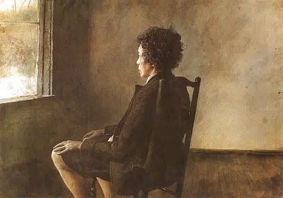 Up in the Studio (Andrew Wyeth)