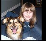 Sarah and her dog