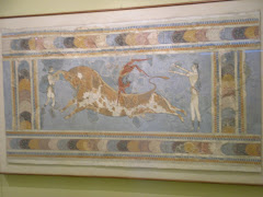 Knossos bull vaulting 1800 BC