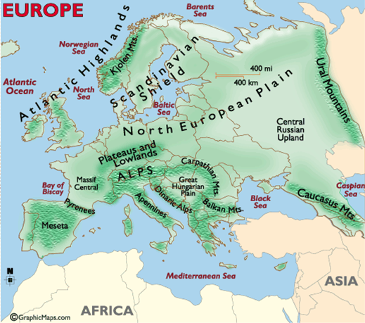 History Geography Biographies European Rivers - European rivers