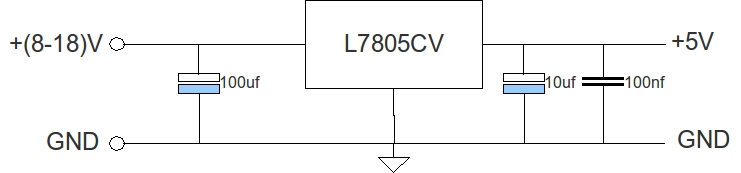 Circuito Regulador De Voltaje : Microcontroladores regulador de voltaje v
