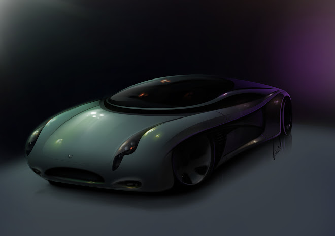 Concept model of jaguar