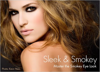 It's all about the sensual allure of the smokey eye and nude lip this season ...